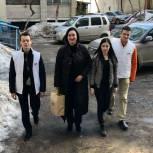 Татьяна Касаева приняла участие в работе волонтерского центра «Единой России»