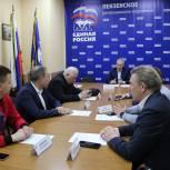 В Пензе на участие в предварительном голосовании «Единой России» заявились общественники и волонтеры, а также учитель математики