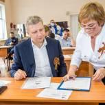 Андрей Иванов и Лариса Лазутина написали «Диктант Победы» в Одинцовском лицее №11