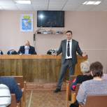 Дмитрий Хубезов посетил Сапожковский район