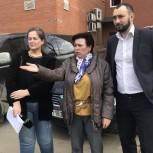 Одинцовские партийцы проверили состояние контейнерной площадки в Лесном городке