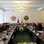 В Рязани обсудили вопросы взаимодействия ветеранских организаций с органами власти