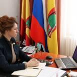 Юлия Рокотянская: Помощь государства позволит молодежи реализоваться с профессиональной и творческой точки зрения