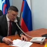 Николай Николаев провел прием граждан в Красноармейском районе