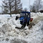 Волонтеры «Единой России» помогли с уборкой снега приюту для бездомных животных