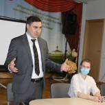 Дмитрий Хубезов встретился с председателями ТОС города Рязани