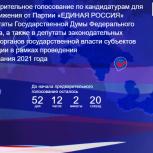 В большинстве регионов страны процедура предварительного голосования пройдет в режиме онлайн