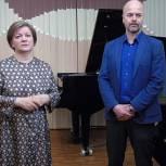 Встречу с коллективом Звенигородской детской музыкальной школы провела Лариса Лазутина