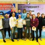 Гиревики Чебаркульского района вновь стали чемпионами области