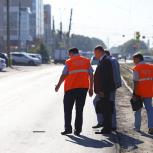 Дорожный контроль проверил состояние автодорог Октябрьского района Новосибирска