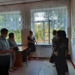 Городовиковские единороссы провели общественную приемку школы