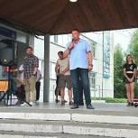 Депутат Андрей Сучков принял участие в празднике двора в своем избирательном округе