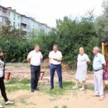 При ремонте двора на улице Гагарина не обеспечена безбарьерная среда