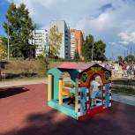 Сквер Первостроителей отремонтировали в Братске в рамках партпроекта «Городская среда»