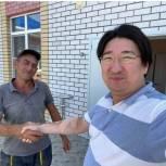 В Яшкульском районе состоялась встреча с Михаилом Богатовым и Бадмой Башанкаевым