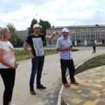 В городе Октябрьский реализация инфраструктурных партийных проектов идет без замечаний