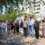 Михаил Мурзаков проконтролировал ход работ по благоустройству мытищинских дворов