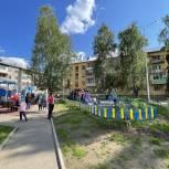 Пространство для отдыха благоустроили в Братске в рамках «Городской среды»