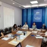 О мерах помощи семьям с детьми говорили в штабе общественной поддержки «Единой России»