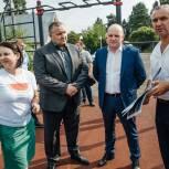 Единороссы городского округа Пушкинский встретились с жителями микрорайона Звягино
