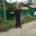 Депутат Пензенской гордумы Игорь Костин обследовал проблемные участки своего избирательного округа