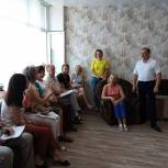 Александр Климов проводит отчетные встречи с населением города Кузнецка