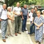 Депутат Советского района Андрей Бодрягин провел встречу по благоустройству с жителями дома по ул. Свободы, 72