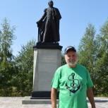 В Старожилове отремонтировали памятник вице-адмиралу Василию Головнину