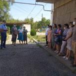 Михаил Богатов посетил Целинный комплексный центр социального обслуживания населения