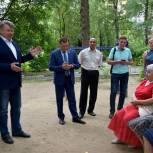 Николай Черкасов провёл встречу с жителями Балашихи