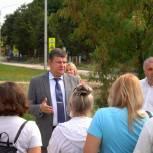 Единороссы Воскресенска провели встречу с жителями по вопросам сдачи в эксплуатацию нового коллектора