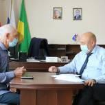 Сергей Айбулатов провёл прием граждан