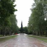 Площадка в парке советско-польского братства по оружию готова к приему военной техники