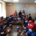 В Советском районе для трудового отряда провели экскурсию в Территориальную избирательную комиссию