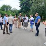 Дмитрий Федотов принял участие в приемке работ, выполненных в рамках проекта «Наш город»