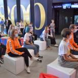 Елена Шмелева и Жанна Рябцева встретились с волонтерами и талантливыми школьниками