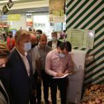 Единороссы Люберец провели рейды по контролю цен на продукты «борщевого набора»