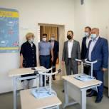 Павел Федяев проверил ход строительства нового спорткомплекса и школы в Рудничном районе Кемерова