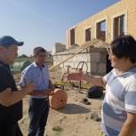 Бадма Башанкаев и Михаил Богатов встретились с жителями Кетченеровского района