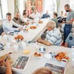 Орехово-Зуевские партийцы провели встречу со старостами деревень