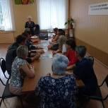 Людмила Глухова ответила на вопросы работников Каменского элеватора