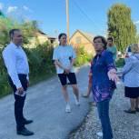 Денис Желиховский пообщался с жителями улиц Липовской и Кубанской