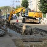 Ремонт теплотрассы на улице Новой завершат к середине сентября