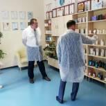 Андрей Голубев посетил предприятия городского округа Ступино