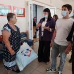 Волонтеры Самарской области оказывают помощь пострадавшим от крупного пожара в Борском районе