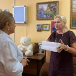 В Махачкале активисты единого волонтерского штаба передали жизненно важные лекарства для пациентов отделения онкогематологии