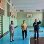 Николай Черкасов проверил готовность школы № 11 в Балашихе к началу учебного года