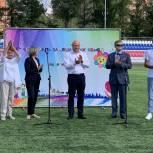 Владимир Вшивцев в Шаховской поприветствовал участников фестиваля замещающих семей