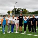 Никольские и Городищенские единороссы отметили День физкультурника