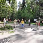 В парках Иванова начались занятия по дыхательной гимнастике и скандинавской ходьбе для всех желающих